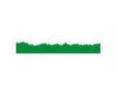 Rasen Rand Wandtattoo von Stickerscape - Wandaufkleber (Groß)