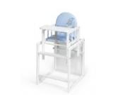 KOKO- Kombi-Hochstuhl | PAUL | weiss | umbaubar zur Stuhl-Tisch Kombination