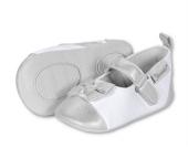 STERNTALER Baby-Schuhe mit Schleife WEISS Gr��e 17/18-19/20