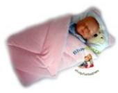 Blueberry Shop Exclusiv Schöne Top-Qualität Velours Kuscheldecke Wickeln Wickeltisch Decke Schlafsack für Neugeborene Baby Rosa