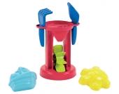 Ecoiffier Sandmühle mit Schaufel und Harke [Kinderspielzeug]