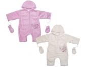 Liliput Baby-Overall mit Handschuhen Gr. 62 (Rosa) [Babykleidung]