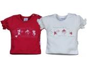 Liliput T-Shirt mit Aufdruck Maus Gr. 62 (Rot) [Babykleidung]