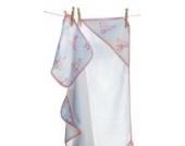 Angel Dear Musselin Handtuch mit Kapuze und Waschlappen,–parent