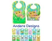 BOMIO | großes Lätzchen mit faltbarer Auffangschale | für Babys und Kleinkinder | wasserabweisend und leicht abwaschbar | kindgerechte Tiermotive | geprüft nach EN 71 | Tiger