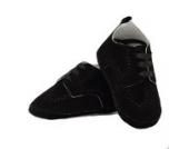 Festliche Babyschuhe Taufschuhe für Jungen schwarz Velour Modell 4143 (20)