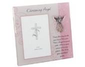 Bilderrahmen Christening Angel zur Taufe, für Fotos mit 10 x 15cm, in Geschenkverpackung