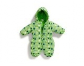 Jacky Baby-Funktions-Schneeanzug Boys grün Gr. 62