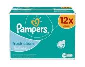 12x64 (768) Stück PAMPERS Feuchttücher Fresh Clean Vorteilspack Giga
