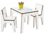 Pinolino 203874 3-teilige 2 Stühle, 1 Tisch