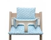 Blausberg Baby - Sitzkissen für Tripp Trapp Hochstuhl - Spring türkis