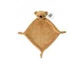 Plüsch-Schnuffeltuch Kuscheltier Schmusetuch Plüschtuch (Teddy)