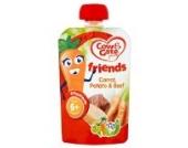 Cow & Gate Freunde 6m + Karotten, Kartoffeln, Rindfleisch 100g Beutel