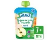 Heinz Mashed Apfel-Schweinefleisch Casserole 7 Mon. + 130 g
