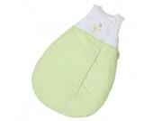 EASY BABY Schlafsack Molton 90 cm Honey bear grün (451-39)