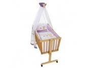 Easy Baby Wiegenset Honey bear lila (480-40)