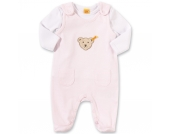 Baby Set Strampler + Langarmshirt Gr. 74 Mädchen Baby