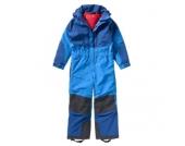 VAUDE Kinder Schneeanzug Kids Suricate Overall II, blau Gr. 92