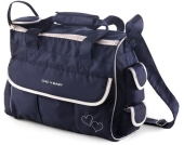 Chic 4 Baby Wickeltasche Luxury Classic Line (Navy) [Kinderwagen]