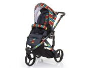 ABC Design Kinderwagen Cobra plus RAINBOW