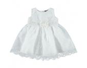 Eisend Girls Baby Taufkleid weiß - Mädchen