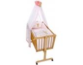 Easy Baby Wiegenset Honey bear rose (480-42)