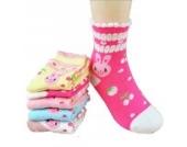 Luckystaryuan ® Set von 5 Mädchen Socken Frühling Herbst Schöne Socke Geschenk für Tochter (2-4years old, Bild 4)