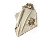 Babies R Us - Kapuzenbadetuch und Waschhandschuh Bär