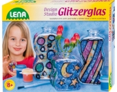 Glitzer-Vasen