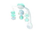 Infantino 3 in 1 Musikmobile und Projektor, Nachtlicht, blau