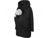 Umstands- und Tragejacke 3 in 1 TIKKA CARRY ME Gr. 42 Damen Kinder