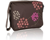 LÄSSIG Wickeltasche Casual Messenger Bag Barberry choco