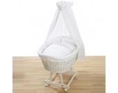 Alvi ® Komplettstubenwagen Birthe weiß 321-0 Hello Baby