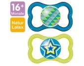 MAM Latex-Schnuller Air 16-36 Monate für Jungen