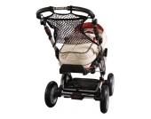 Universalnetz Kinderwagen, mit Anker, schwarz Kinder