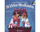 10 kleine Musikanten, m. Audio-CD