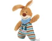Semmel Bunny: Spielfigur mit Rassel, 15 cm (47891)