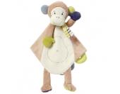 fehn ® Monkey Donkey Schmusetuch Deluxe Affe