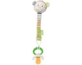 Baby Fehn Monkey Donkey Schnullerkette Affe (Braun-Grün) [Babyspielzeug]
