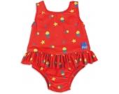 Bambino Mio Windelschwimmanzug mit Auslaufschutz rot