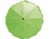 Playshoes 4010952271331 Sonnenschirm für Kinderwagen mit UV Schutz grün, 70 cm