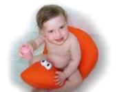Pomfitis Shibaba Badewannensitz mit Baigneuse Wanne für Babys, Kinder Protektor Toddler, grün