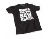 Babies Are the new – Schwarz (Black) Baby Tee Shirt, 2 – 4 Jahre