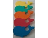 Auftriebshilfe Schwimmbrett Schwimmspaß WAL 390x200x38mm BLAU NEU&Original von Babysplash