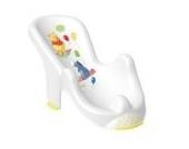 OKTKids 861891E Anatomischer Babybadesitz Winnie Puuh & Freunde, wei