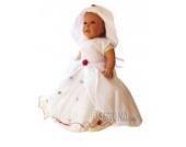 Sommer Taufkleid sommerliches Kleid Taufkleider Baby Babies für Taufe Hochzeit Feste, Größe 80 86 JE04