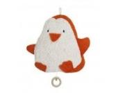 Efie Spieluhr Pinguin, kontrolliert biologischer Anbau, 100 % Made in Germany