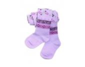 Baby und Kinderstrumpfhose Empfehlung: 3-6 Monate, Größe: 62/68, Farbe: Flieder (Preis vom Hersteller)