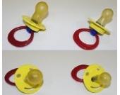Sunnybaby Beruhigungssauger Kirschsauger aus Latex für Mädchen , große Kirsche 6+, 10 Stück