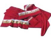 Kinderbutt Waschhandschuh Frottier rubin Größe 15x21 cm